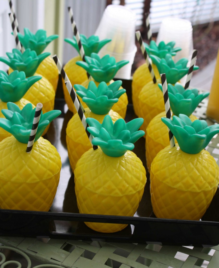 Jace's California Pineapple Birthday Party – CherJoy Blog